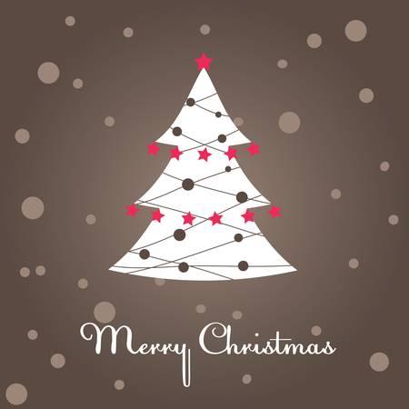 Christmas tree, decoration Stock Vector - 8468825
