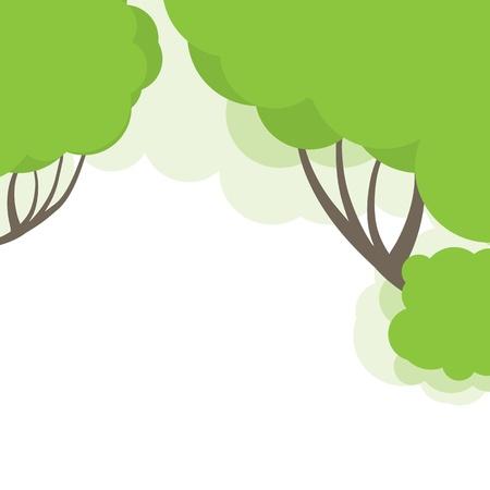 Abstract tree. illustration Illustration
