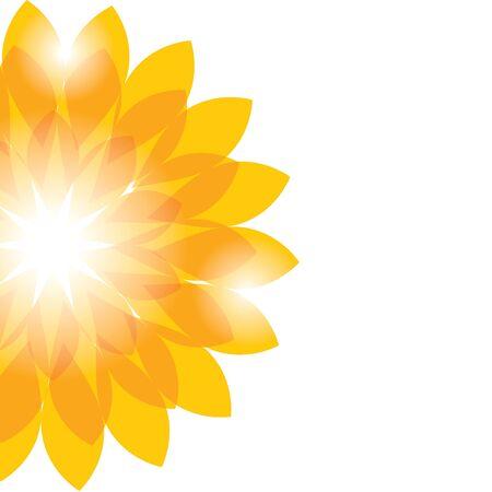 Hintergrund mit Blumen. Vektor-illustration Standard-Bild - 9448849