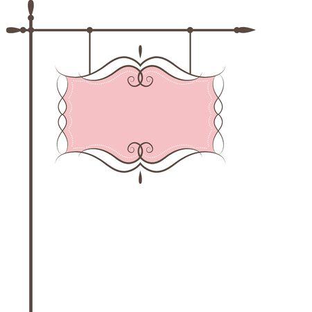 Restaurant vector sign . Vector illustration Vector