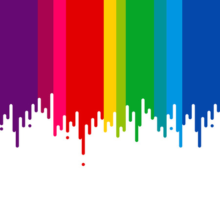 colors paint: Dripping paint. All colors. Vector illustration. Illustration