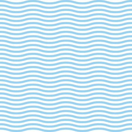 Blue waves sea ocean vector illustration abstract seamless pattern background colorful wallpaper water.
