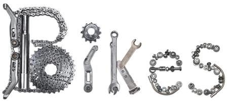 fietsketting: Woord Bikes