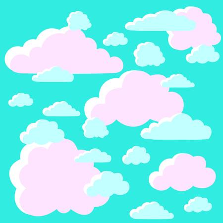 clouds: blue clouds