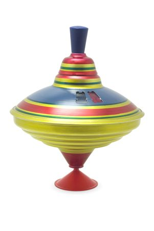 rigidity: Toy spinning- top