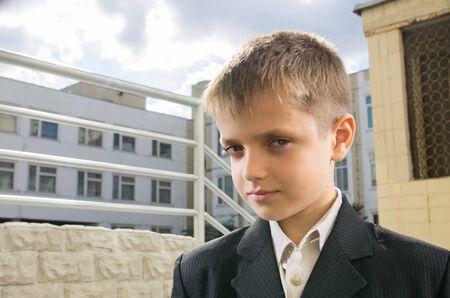 schooler: Schooler poco a cortile della scuola