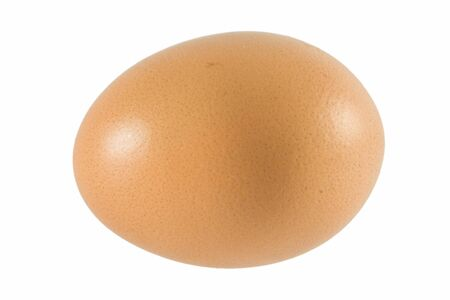 huevo blanco: huevos de pollo sobre fondo blanco