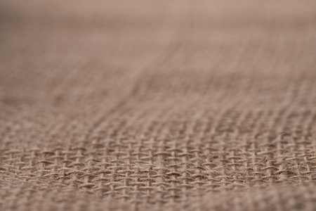 Sackcloth or burlap texture background. Selected focus Stock Photo