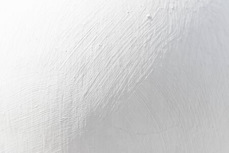 White background or texture - plastered wall Фото со стока