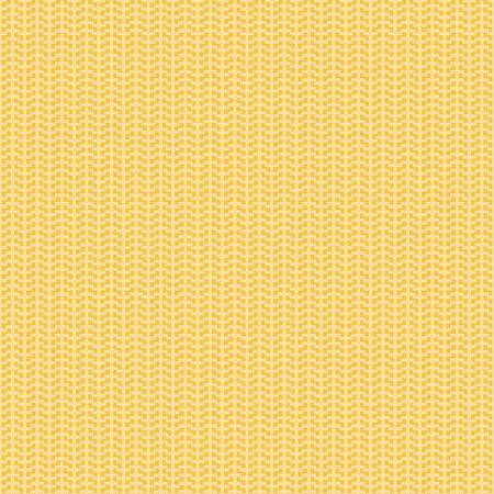 Tiny Cross Weave background texture vector overlay layer. Shown in Ocher, mustard yellow and white. Stock Illustratie