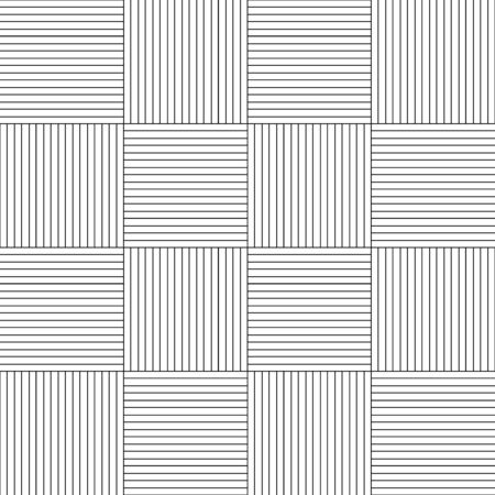 Modern Geometric Basketweave Block Texture seamless vector pattern. Use alone or add to patterns for a textured look.