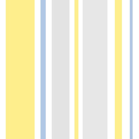 Yellow Gray Blue stripes seamless vector pattern. Popular yellow and grey stripes with a touch of blue surface or tile pattern. 矢量图像