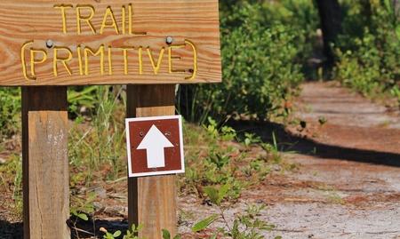Primitive Trail 写真素材