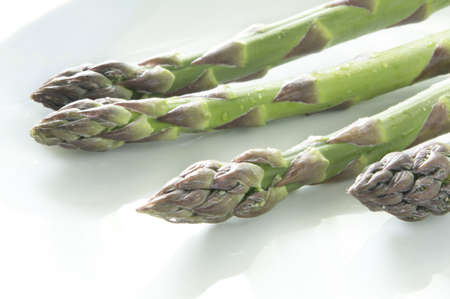 virginity: Fresh asparagus Stock Photo