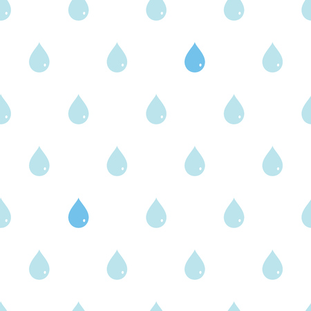 Health clean water in the flat style.Seamless pattern.