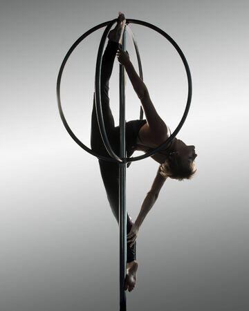Girl on Circus Aparatus