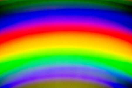 Futuristic Science Fiction Rainbow Holographic Background Compact Disc