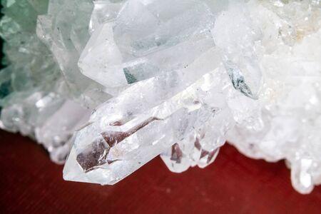 Close Up of a Healing Crystal Shiny Gemstone Precious Jewels