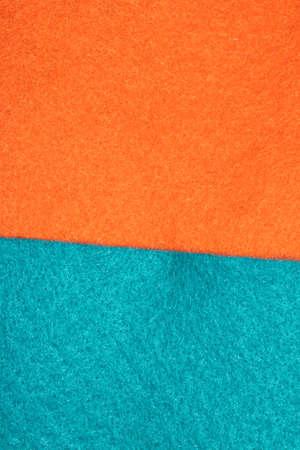 A Close Up of Coloured Felt Fabric Cloth Abstract Stock fotó