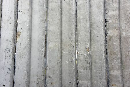 Reclaimed: Recycled weathered siding boards as grunge background Stock Photo