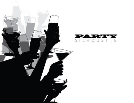 Partei Toast Standard-Bild - 20752690