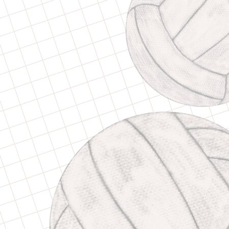 volleyball ball, abstract design templates Zdjęcie Seryjne