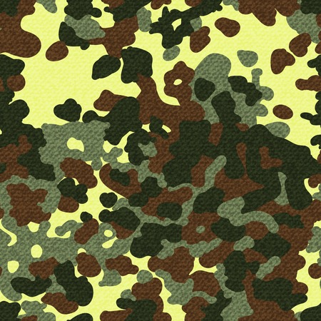 fatigues: Camouflage seamless pattern with texture. Vector illustration