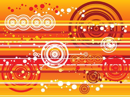 desktop wallpaper: Combinaci�n de lotes de c�rculos de colores y puntos hacer una ilustraci�n. Se puede utilizar como cualquier prop�sito de fondo de escritorio y papel tapiz.