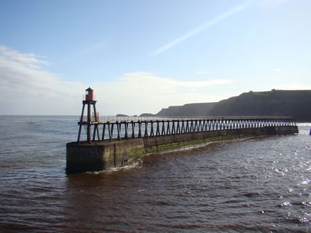 whitby: East Pier, Whitby, Yorkshire