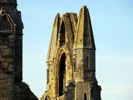 whitby: Whitby Abbey, Yorkshire, North Transept