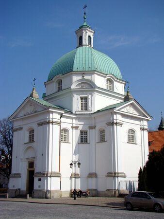 casimir: Church of Saint Casimir,Warsaw Stock Photo