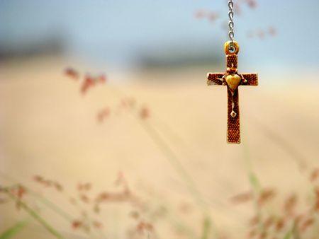 Hanging on the cross bones photo