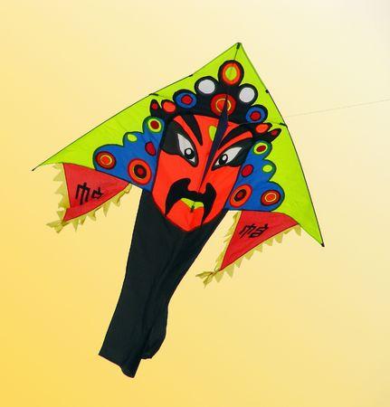 Peking opera mask kite photo