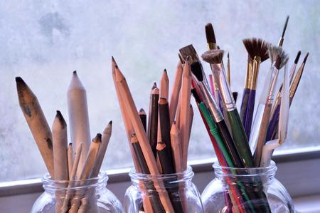 Painting,drawing and sketching tools.