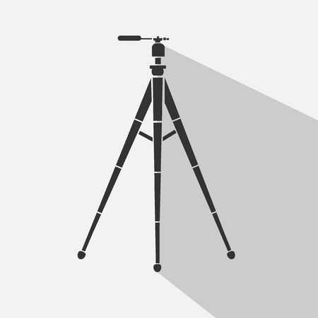 journalism: tripods vector