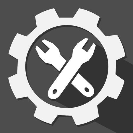 tools setting vector icon Illustration