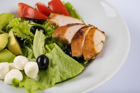 Homemade salad a favorite among today's healthy conscious people.