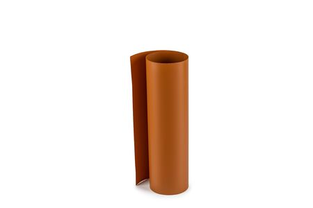 Roll of brown matt frosted paper