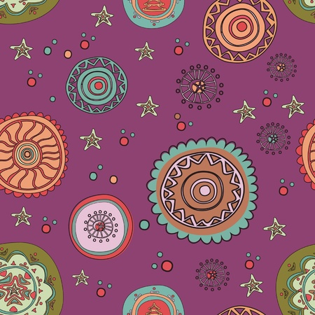 colorful pattern backdrop  Vector