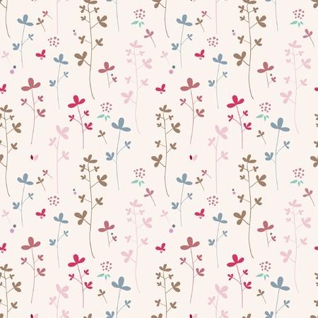 summer flowers cotton  Stock Vector - 10601888