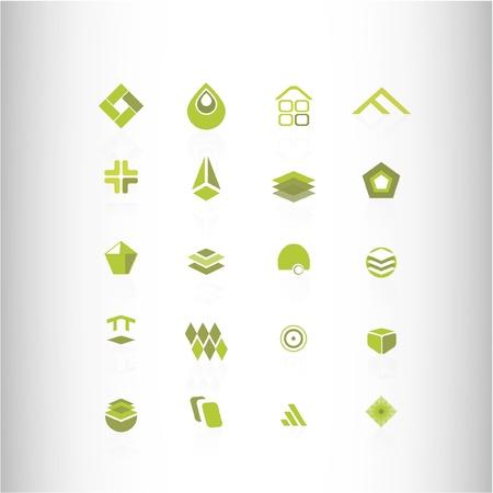elipse: elemento de diseño verde