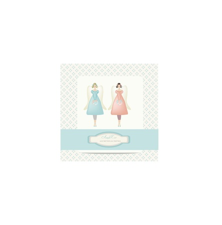cake stand: vintage sweet fairy card