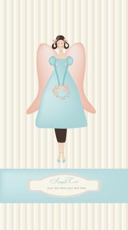 vintage dall background  Illustration