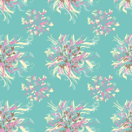 flowers cotton Vector
