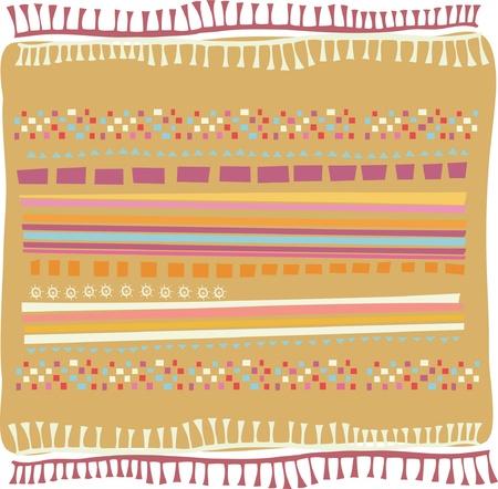 india food: exotic rug