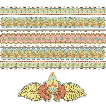 mehandi: beautiful Indian pattern to decorate