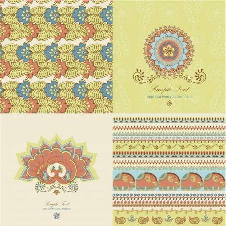 Indian pattern Stock Vector - 14888179