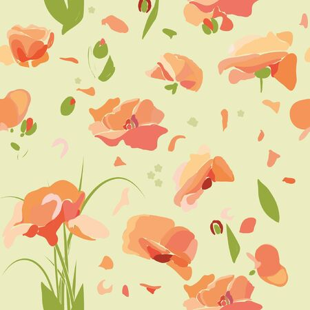 flover pattern Vector