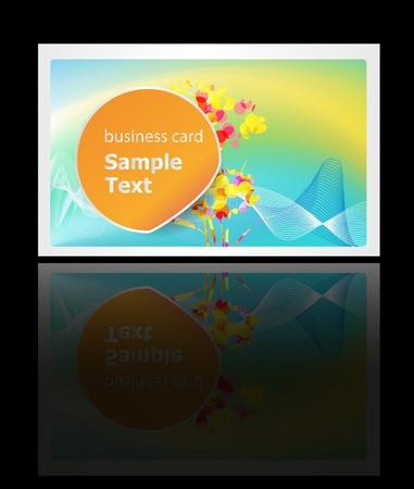 busines: busines card background Illustration