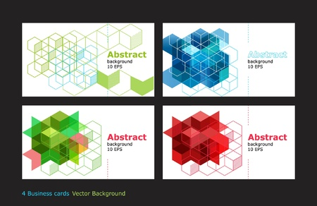 business card  design vector background abstract Illustration